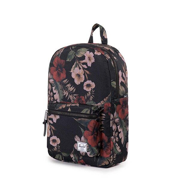 【EST】HERSCHEL SETTLEMENT MID 中款 13吋電腦包 後背包 花卉 [HS-0033-910] G0122 2