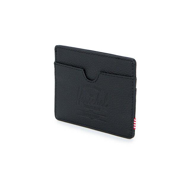 【EST】Herschel Charlie 橫式 卡夾 名片夾 證件套 皮革 黑 [HS-0045-004] G0414 2