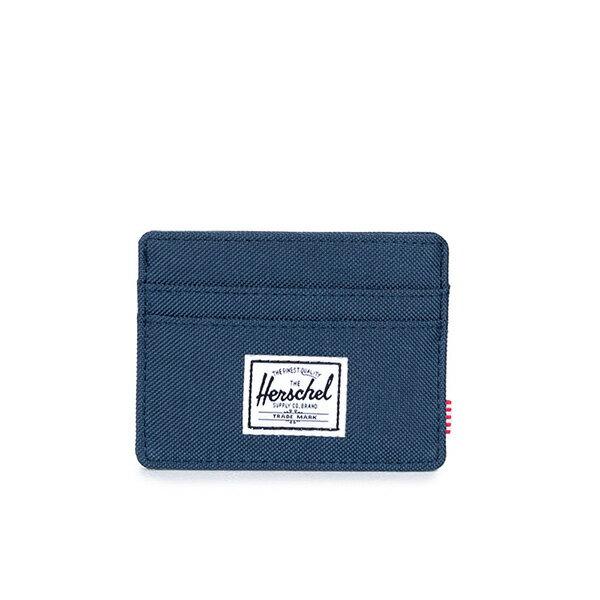 【EST】Herschel Charlie 橫式 卡夾 名片夾 證件套 藍 [HS-0045-007] G0122 0