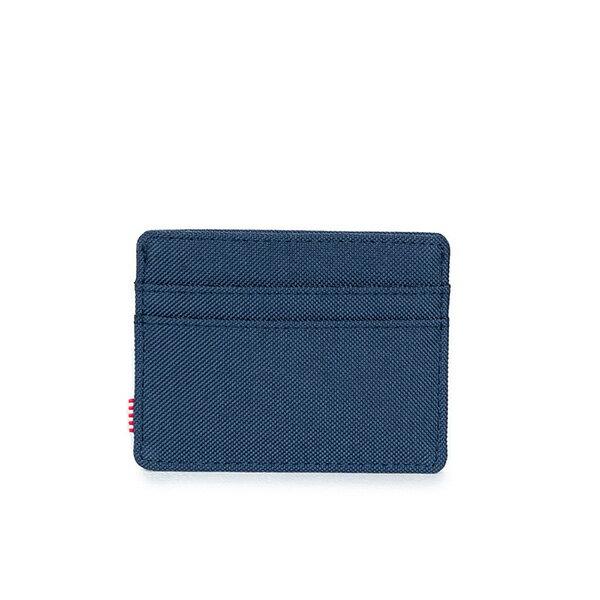 【EST】Herschel Charlie 橫式 卡夾 名片夾 證件套 藍 [HS-0045-007] G0122 2