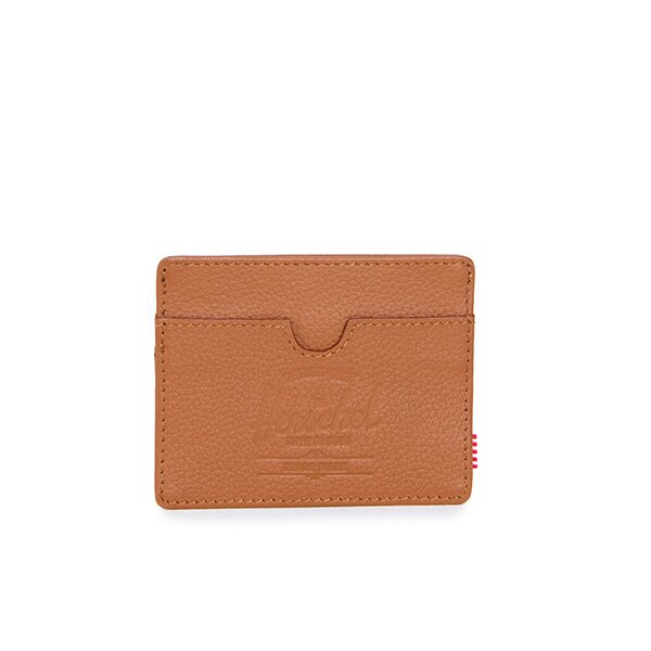 【EST】HERSCHEL CHARLIE 橫式 卡夾 名片夾 證件套 皮革 褐 [HS-0045-034] G0414 0