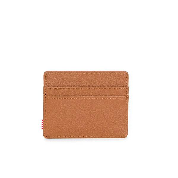 【EST】HERSCHEL CHARLIE 橫式 卡夾 名片夾 證件套 皮革 褐 [HS-0045-034] G0414 1