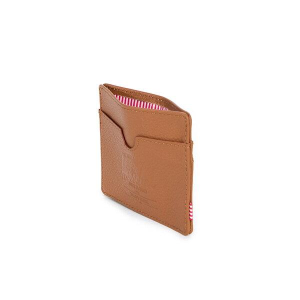 【EST】HERSCHEL CHARLIE 橫式 卡夾 名片夾 證件套 皮革 褐 [HS-0045-034] G0414 3