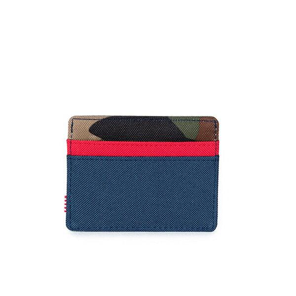 【EST】HERSCHEL CHARLIE 橫式 卡夾 名片夾 證件套 迷彩/紅 [HS-0045-041] G1012 2