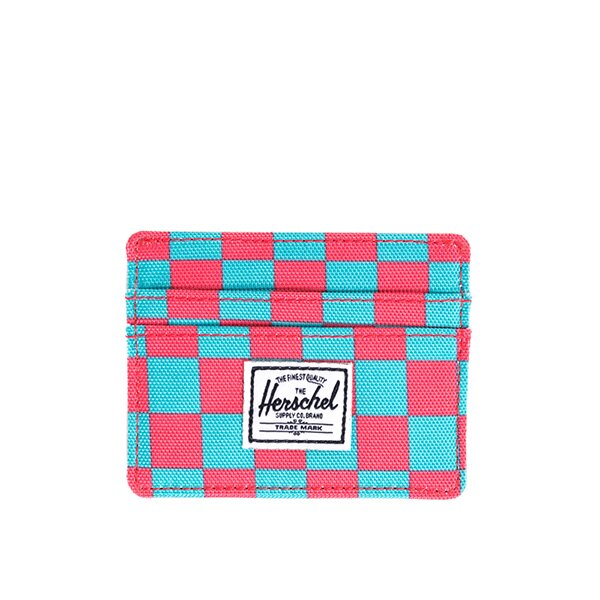 【EST】HERSCHEL CHARLIE 橫式 卡夾 名片夾 證件套 普普風 格紋 [HS-0045-361] G0706 0