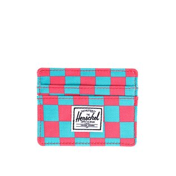 【EST】HERSCHEL CHARLIE 橫式 卡夾 名片夾 證件套 普普風 格紋 [HS-0045-361] G0706
