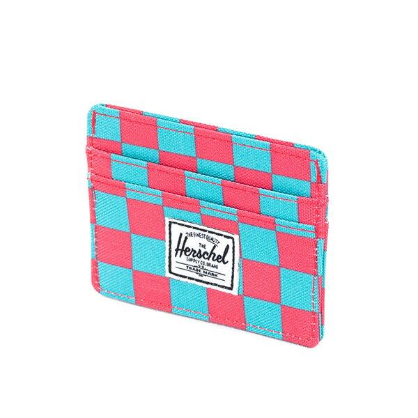 【EST】HERSCHEL CHARLIE 橫式 卡夾 名片夾 證件套 普普風 格紋 [HS-0045-361] G0706 2