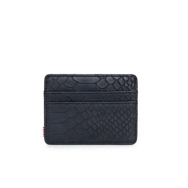 【EST】HERSCHEL CHARLIE 橫式 卡夾 名片夾 證件套 蛇紋 [HS-0045-876] G0706 1