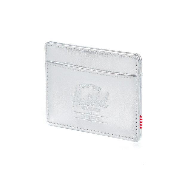 【EST】Herschel Charlie 橫式 卡夾 名片夾 證件套 銀 [HS-0045-967] G0706 1