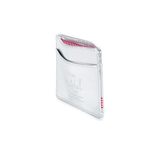 【EST】Herschel Charlie 橫式 卡夾 名片夾 證件套 銀 [HS-0045-967] G0706 3