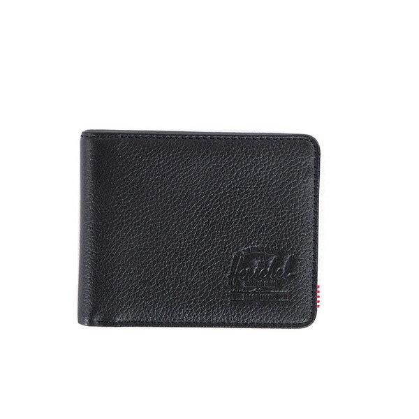 【EST】HERSCHEL HANK WALLET 短夾 皮夾 錢包 皮革 黑 [HS-0049-004] G0122 0