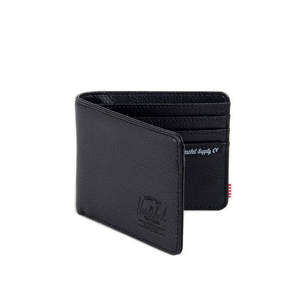 【EST】HERSCHEL HANK WALLET 短夾 皮夾 錢包 皮革 黑 [HS-0049-004] G0122 1