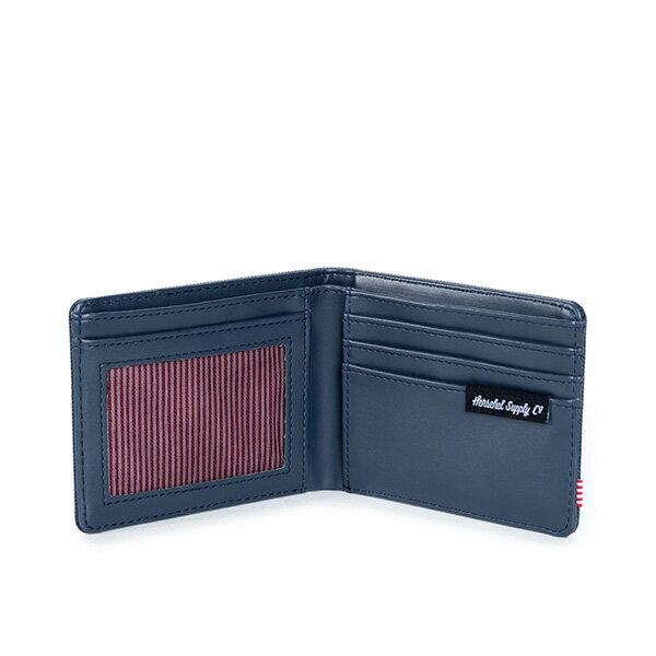 【EST】HERSCHEL HANK WALLET 短夾 皮夾 錢包 藍 [HS-0049-007] G0801 2