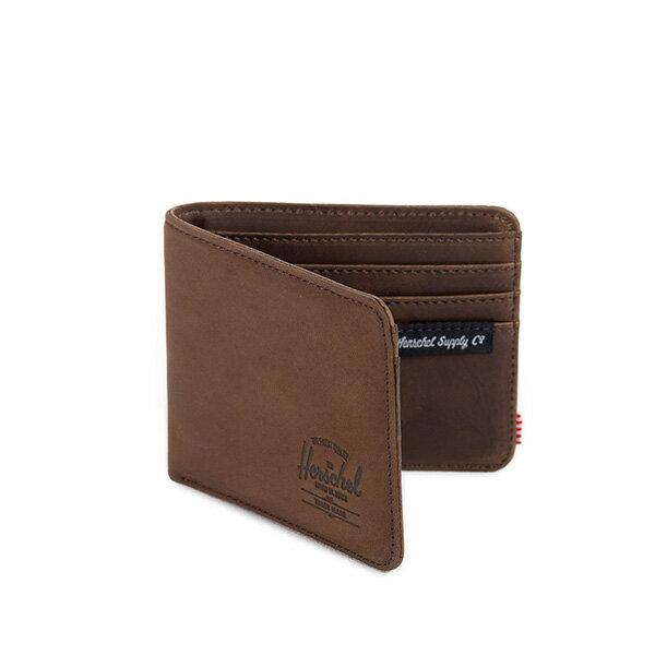 【EST】HERSCHEL HANK WALLET 短夾 皮夾 錢包 皮革 棕 [HS-0049-037] G0122 1