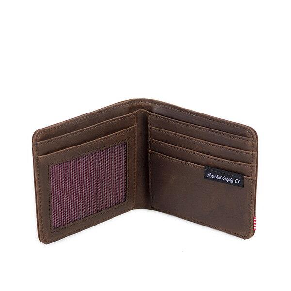 【EST】HERSCHEL HANK WALLET 短夾 皮夾 錢包 皮革 棕 [HS-0049-037] G0122 2
