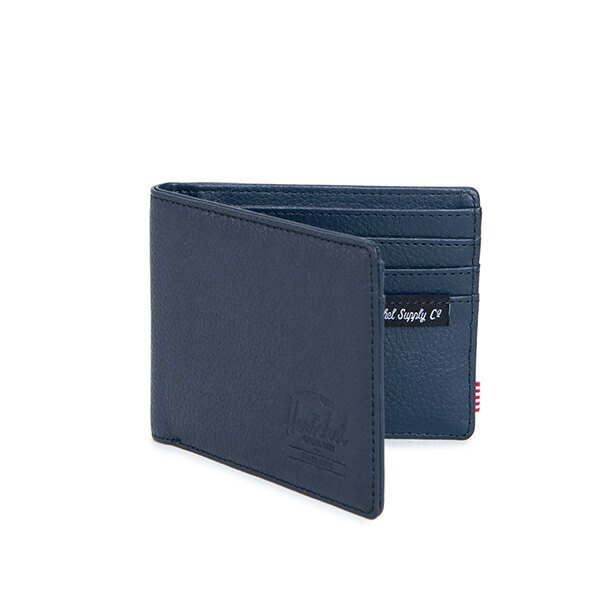 【EST】HERSCHEL HANK WALLET 短夾 皮夾 錢包皮革 藍 [HS-0049-776] G0414 1