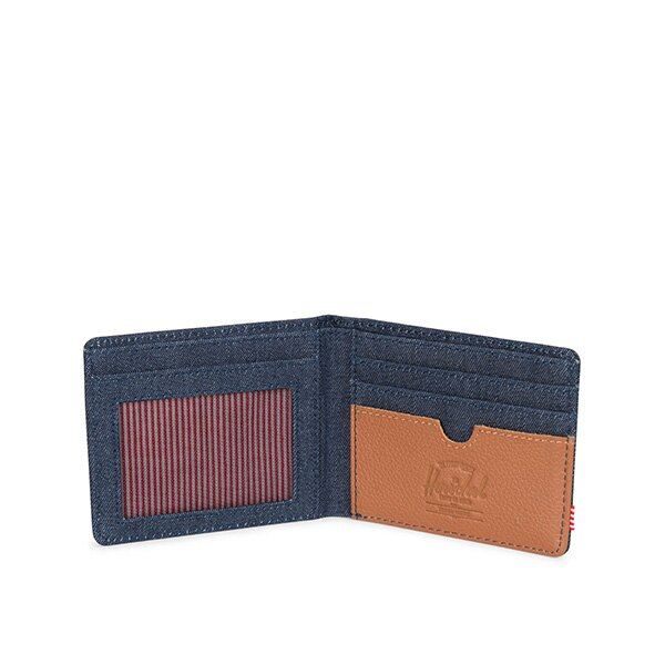 【EST】HERSCHEL HANK WALLET 短夾 皮夾 錢包  丹寧 [HS-0049-B83] G0801 2
