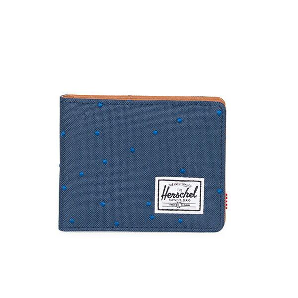 【EST】HERSCHEL HANK WALLET 短夾 皮夾 錢包 藍點點 [HS-0049-C73] G1012 0