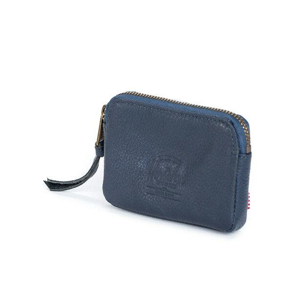 【EST】HERSCHEL OXFORD POUCH 真皮 零錢包 藍 [HS-0052-776] G0122 1