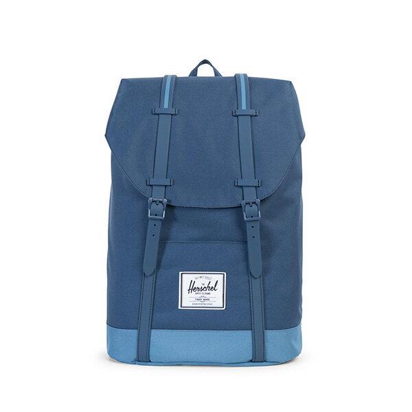 【EST】HERSCHEL RETREAT 15吋電腦包 後背包 拼色 藍 [HS-0066-A58] G0414 0