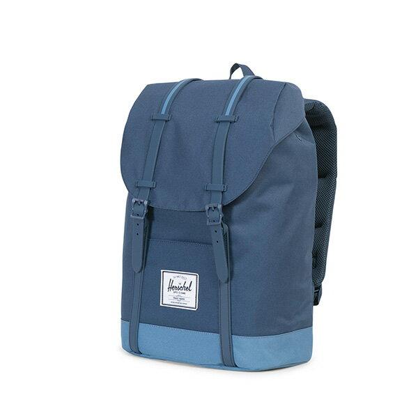 【EST】HERSCHEL RETREAT 15吋電腦包 後背包 拼色 藍 [HS-0066-A58] G0414 2