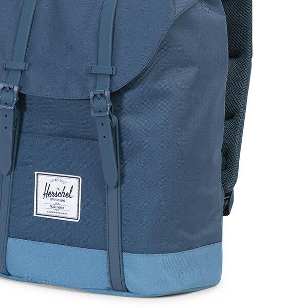 【EST】HERSCHEL RETREAT 15吋電腦包 後背包 拼色 藍 [HS-0066-A58] G0414 4