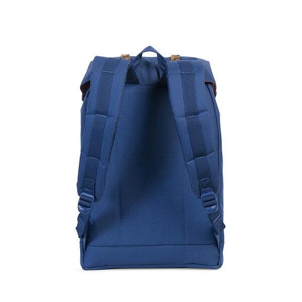【EST】HERSCHEL RETREAT 15吋電腦包 後背包 玳瑁 膠條 藍 [HS-0066-B55] G0801 3