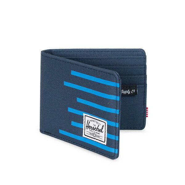 【EST】HERSCHEL ROY WALLET 短夾 皮夾 錢包 OFFSET系列 條紋 藍 [HS-0069-A42] G0706 1