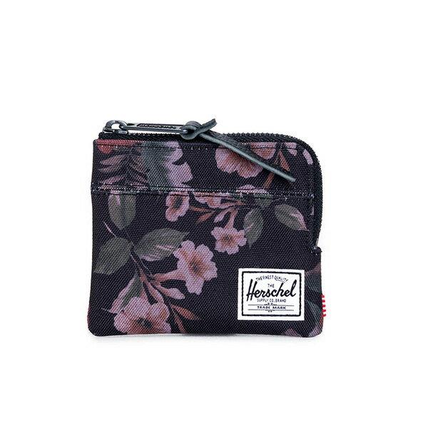 【EST】HERSCHEL JOHNNY WALLET 小皮夾 零錢包 花卉 [HS-0094-910] G0122 0