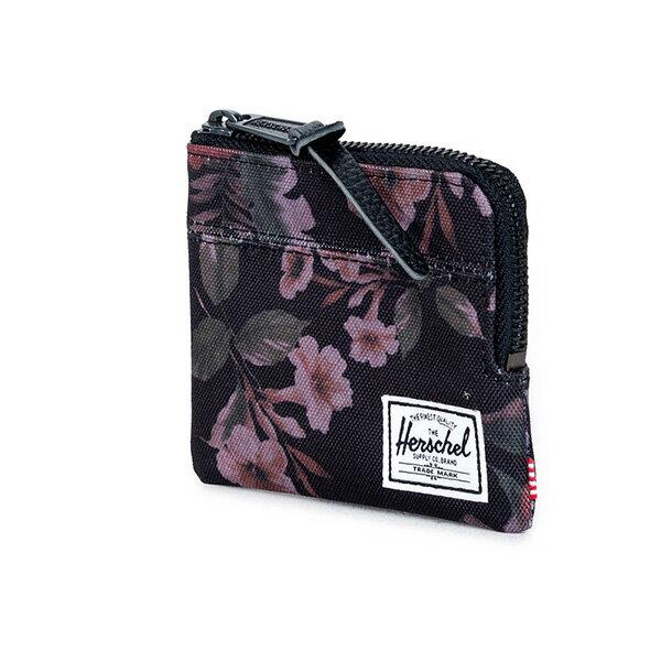 【EST】HERSCHEL JOHNNY WALLET 小皮夾 零錢包 花卉 [HS-0094-910] G0122 1