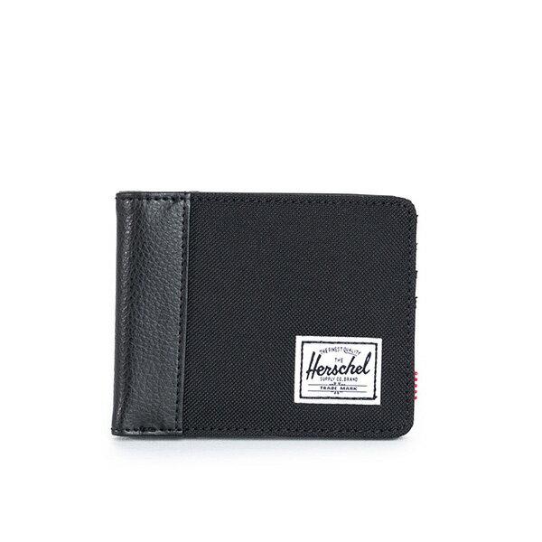 【EST】HERSCHEL EDWARD WALLET 短夾 皮夾 錢包 荔枝皮 黑 [HS-0133-165] G0122 0