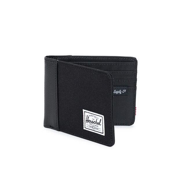 【EST】HERSCHEL EDWARD WALLET 短夾 皮夾 錢包 荔枝皮 黑 [HS-0133-165] G0122 1