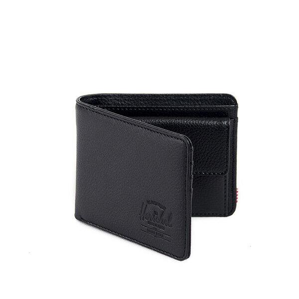 【EST】HERSCHEL HANK COIN WALLET 短夾 皮夾 零錢包 皮革 黑 [HS-0149-004] G0122 1