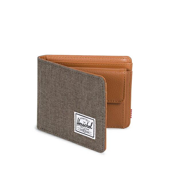 【EST】Herschel Hank Coin Wallet 短夾 皮夾 零錢包 麻灰 [HS-0149-C47] G1012 1