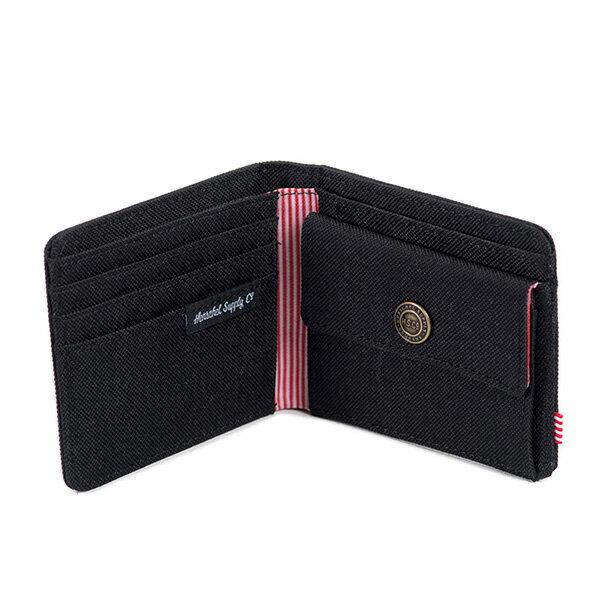 【EST】Herschel Roy Coin Wallet 短夾 皮夾 零錢包 黑 [HS-0151-001] G0414 2