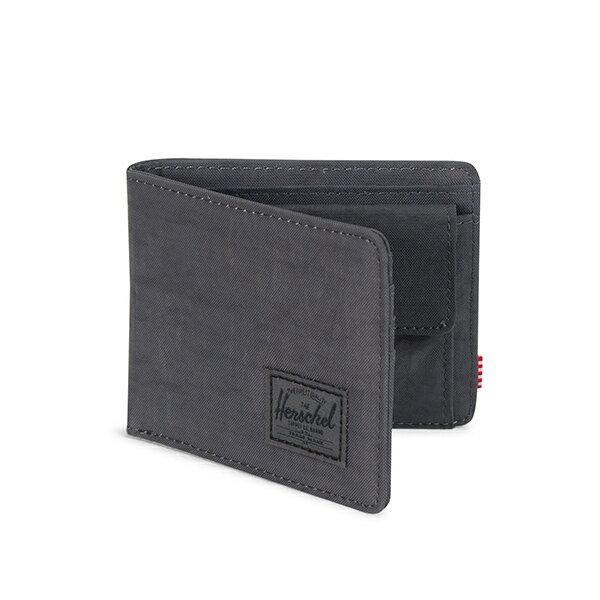 【EST】HERSCHEL ROY COIN WALLET 短夾 皮夾 零錢包 深灰 [HS-0151-B28] G1012 1