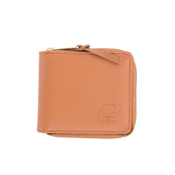 【EST】HERSCHEL WALT WALLET 拉鍊 短夾 皮夾 零錢包 皮革 褐 [HS-0153-034] G0414 0