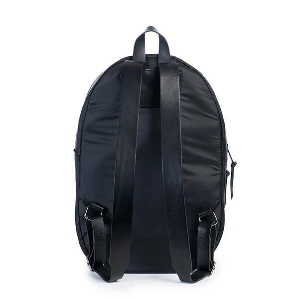 【EST】HERSCHEL LAWSON 電腦包 後背包 皮帶 尼龍 黑 [HS-0179-896] G0122 3