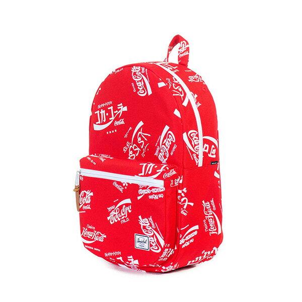 【EST】HERSCHEL LAWSON 電腦包 後背包 可口可樂 紅 [HS-0179-991] G0122 2