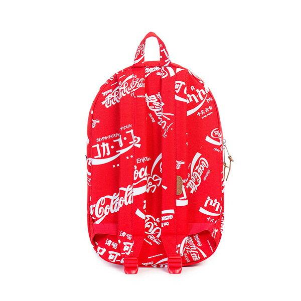 【EST】HERSCHEL LAWSON 電腦包 後背包 可口可樂 紅 [HS-0179-991] G0122 3