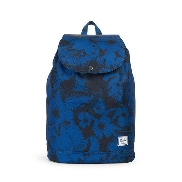 【EST】HERSCHEL REID 束口 扣式 後背包 叢林 花卉 藍 [HS-0182-A56] G0414 0
