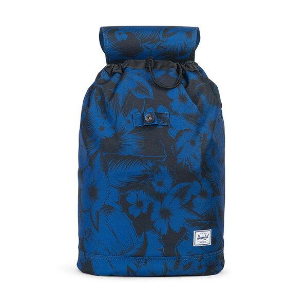 【EST】HERSCHEL REID 束口 扣式 後背包 叢林 花卉 藍 [HS-0182-A56] G0414 1