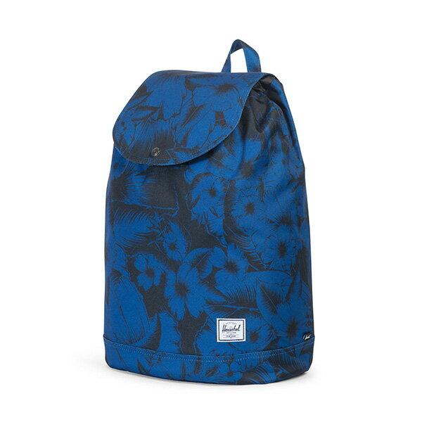 【EST】HERSCHEL REID 束口 扣式 後背包 叢林 花卉 藍 [HS-0182-A56] G0414 2