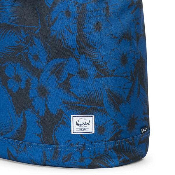 【EST】HERSCHEL REID 束口 扣式 後背包 叢林 花卉 藍 [HS-0182-A56] G0414 4