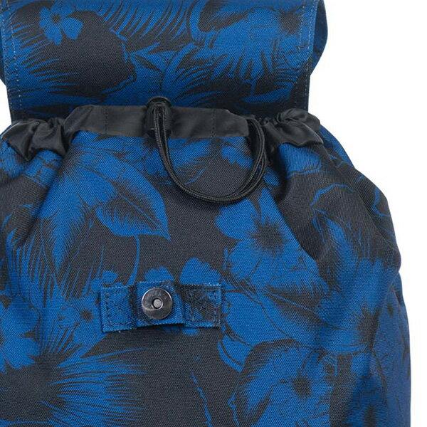 【EST】HERSCHEL REID 束口 扣式 後背包 叢林 花卉 藍 [HS-0182-A56] G0414 5
