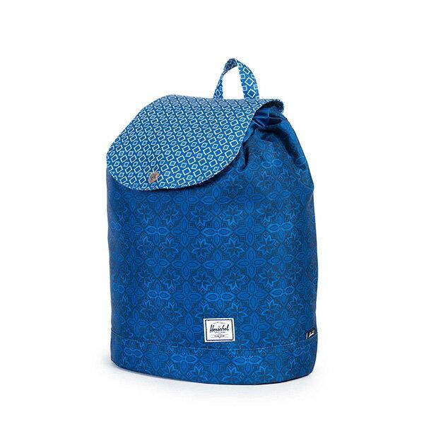 【EST】HERSCHEL REID MID 中款 束口 扣式 後背包 印花 藍 [HS-0184-921] G0122 2