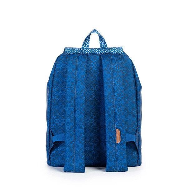 【EST】HERSCHEL REID MID 中款 束口 扣式 後背包 印花 藍 [HS-0184-921] G0122 3