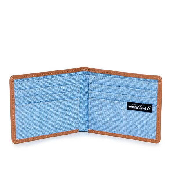 【EST】HERSCHEL TAYLOR WALLET 短夾 皮夾 錢包 滾邊 丹寧 藍 [HS-0198-927] G0122 2