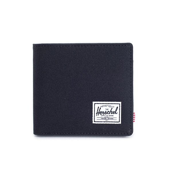 【EST】HERSCHEL HANK LARGE WALLET 短夾 皮夾 零錢包 黑 [HS-0199-001] G0122 0