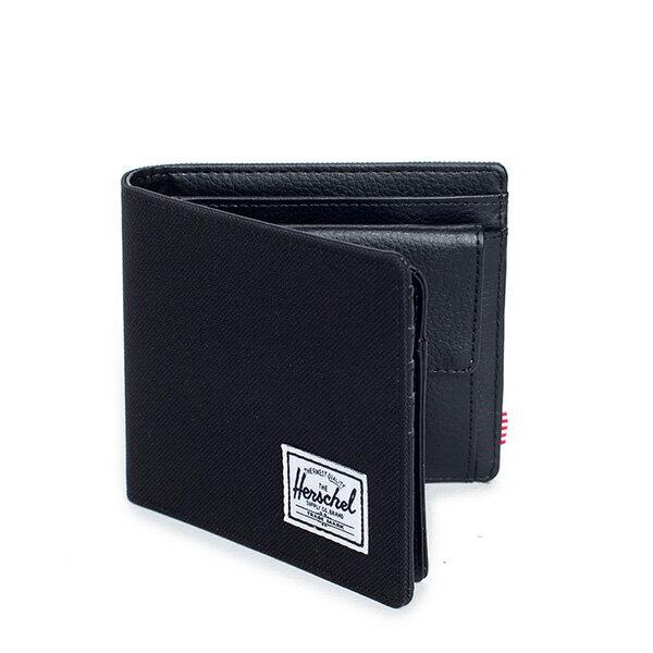 【EST】HERSCHEL HANK LARGE WALLET 短夾 皮夾 零錢包 黑 [HS-0199-001] G0122 1